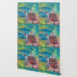 Sea Turtle Dream Wallpaper
