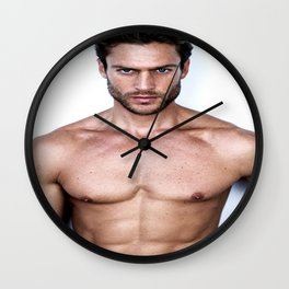 Triple 1 Wall Clock