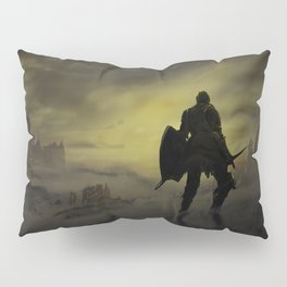 At the End of the World Pillow Sham