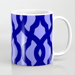 Grille No. 2 -- Blue Coffee Mug