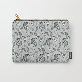 Leaves pattern 02 Carry-All Pouch