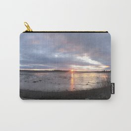 Panoramic Sunset on the Cove Carry-All Pouch