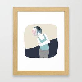 YING-YANG Framed Art Print