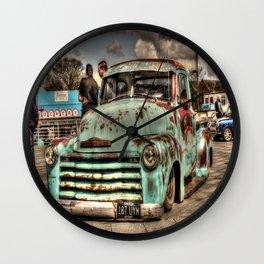 Rusty Chevrolet HDR Wall Clock