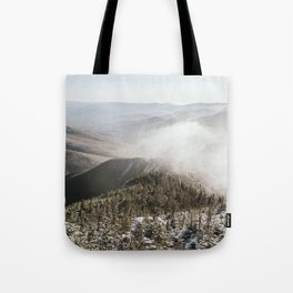 Winter in the White Mountains Tote Bag