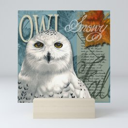 The Snowy Owl Journal Mini Art Print