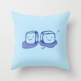 Ice Ice Baby Throw Pillow