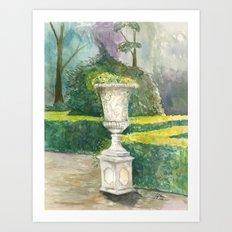 Abstract Vase Art Print