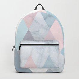 Diamond Peaks on Marble Backpack