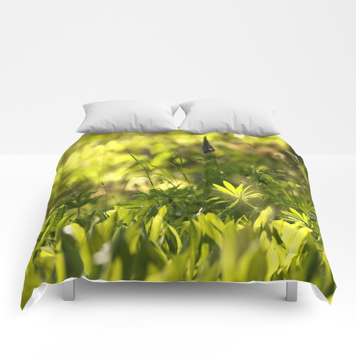 In The Summer Forest #decor #society6 Comforters