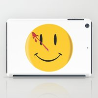 watchmen iPad Cases featuring Who watches the watchmen?  by Vickn