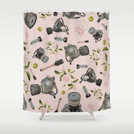 Don't stop to smell the roses Shower Curtain