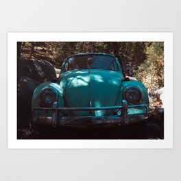 Beetle Bug car Art Print