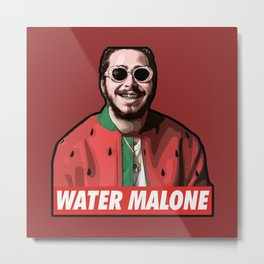 water malone Metal Print