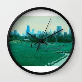 Chicago skyline, Lincoln Park Wall Clock