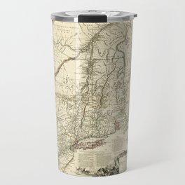 American Revolutionary War Map (1782) Travel Mug