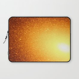 Copper Stars Ombre Laptop Sleeve