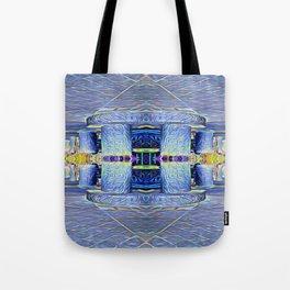 The Two Pillars Tote Bag