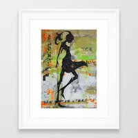 miami Framed Art Prints featuring miami by the marykate
