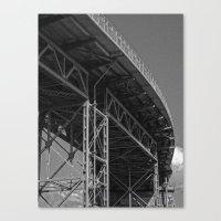 bridge Canvas Prints featuring Bridge by Christophe Chiozzi