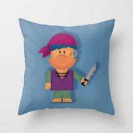 Buccaneer Monstris One Throw Pillow