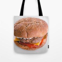 The Tasty Cheeseburger Tote Bag