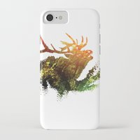 elk iPhone & iPod Cases featuring Elk by Justin Kedl