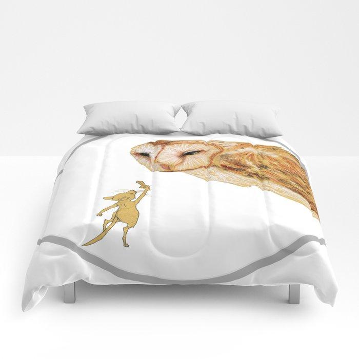 Brave Little Warrior Comforters