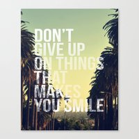 quotes Canvas Prints featuring QUOTES by magdam