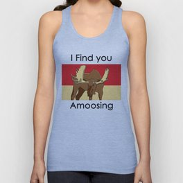 I FIND YOU AMOOSING Unisex Tank Top