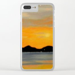 Stavanger Fjord Clear iPhone Case