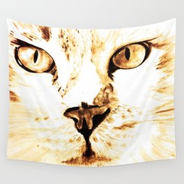 Cat with an attitude Wall Tapestry