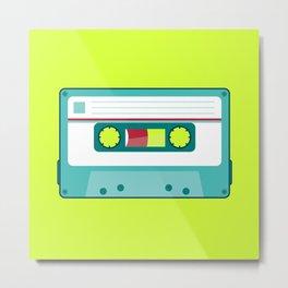 #54 Cassette Metal Print