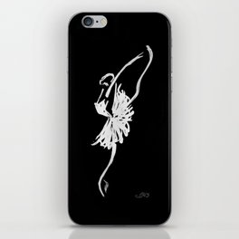 The Swan iPhone Skin