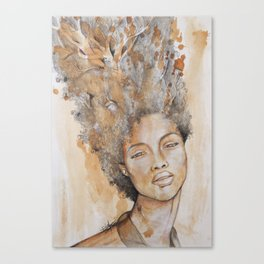 """Roots"" by Ethel Tawe Canvas Print"