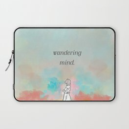 wandering mind. Laptop Sleeve