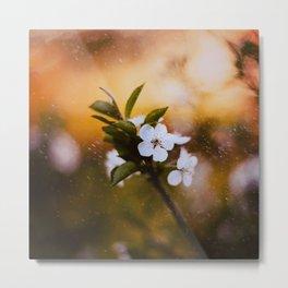 Spring Rain Metal Print