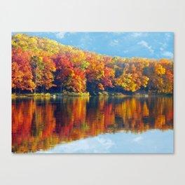 Autumn Colors at Lake Killarney Canvas Print