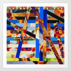 Brandon (stripes 1) Art Print