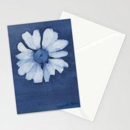 Indigo Daisy Stationery Cards