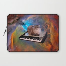 Cat on a Keyboard in Space                                                       Laptop Sleeve