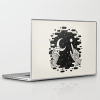 Laptop Skins featuring Look to the Skies by LordofMasks