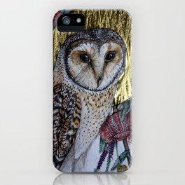 Australian Masked Owl iPhone Case