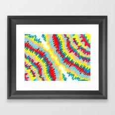 radioactive vomitz PRINT Framed Art Print