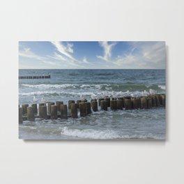 Baltic Sea Summer Paradise Metal Print