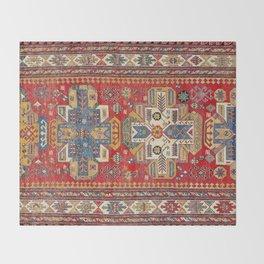 Daghestan Sumakh Northeast Caucasus Rug Print Throw Blanket