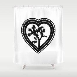 Heart of the Hi-Desert™ Joshua Tree by CREYES Shower Curtain