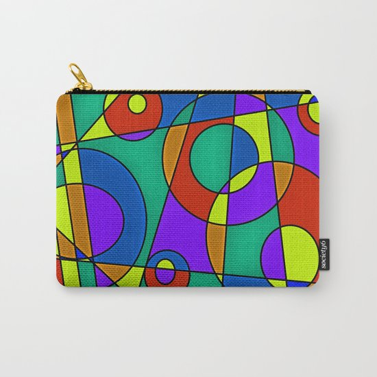 Abstract #61 Carry-All Pouch