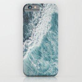 Saltwater Feelings Ocean Surf iPhone Case