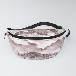 Hills and Valleys 1 Fanny Pack